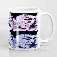 scream Mugs featuring Scream by Iconic Arts