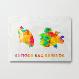 Antigua Metal Print
