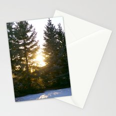 sun leak Stationery Cards