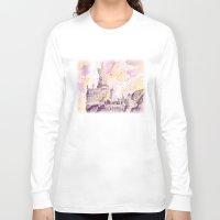 hogwarts Long Sleeve T-shirts featuring hogwarts by impalei