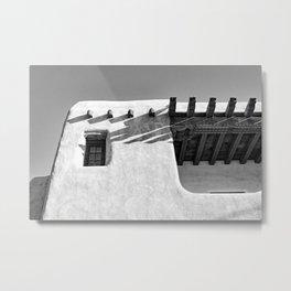 Santa Fe Photo, Adobe Building Metal Print