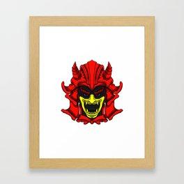 Japan Warrior Framed Art Print