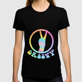 Retro Stylish Seventies Graphics Tee Shirt Gift Cool Vintage Groovy 70s 1970s Style Disco Colors T-shirt