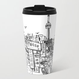 Toronto! Metal Travel Mug