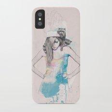 Raccoon Love iPhone X Slim Case