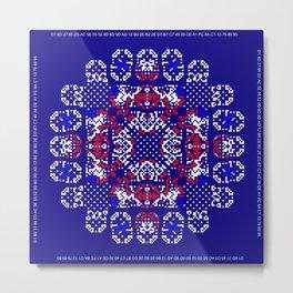 """""""Snowflakes"""" series #5 Metal Print"""