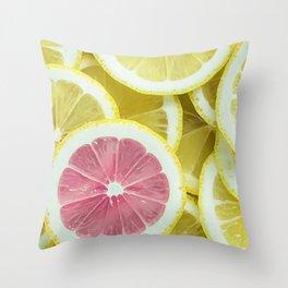 When Life Give You Lemons Throw Pillow