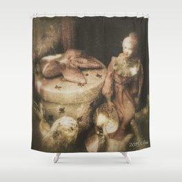 Bygone Shower Curtain