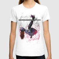bondage T-shirts featuring Bondage Catwoman by lucille umali
