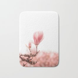 spring magnolia tree Bath Mat