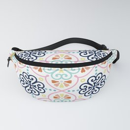 Pastel Moroccan Pattern Fanny Pack