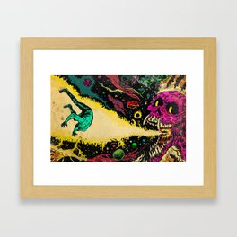 Interstellar Overdrive  Framed Art Print
