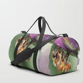 Fuzzy Little Bee Duffle Bag