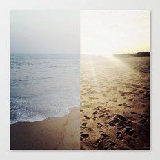 Ocean & Sand Canvas Print