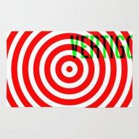 vertigo Area & Throw Rugs featuring VERTIGO by Brian Walker