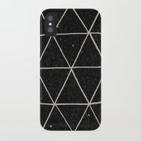 paint iPhone & iPod Cases featuring Geodesic by Terry Fan