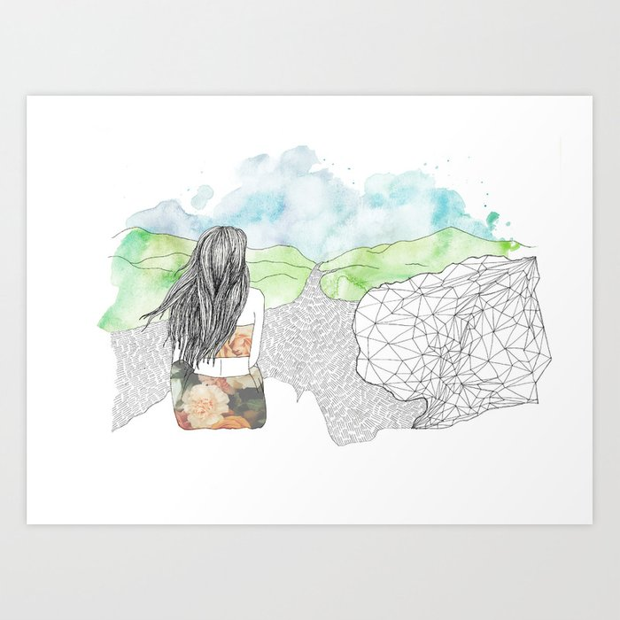 Angel's Rest Art Print