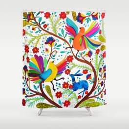 amate 1 Shower Curtain