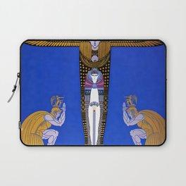"Art Deco Orientalism ""Cleopatra"" Design Laptop Sleeve"