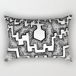 dungeon Rectangular Pillow