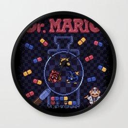 Mario Doctor Wall Clock