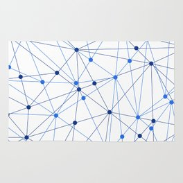 Network background. Connection concept. Rug