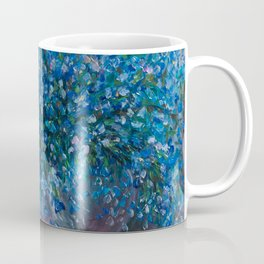 Bouquet Of Forget Me Nots by Lena Owens Coffee Mug