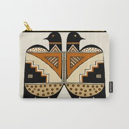 Mimbres Twin Birds Carry-All Pouch