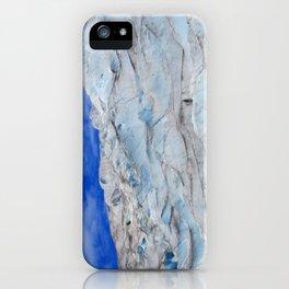 Hiking the glacier in Juneau Alaska  iPhone Case