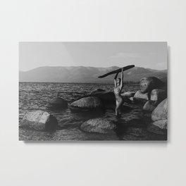 Nik in Tahoe Metal Print