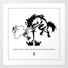 Hollow Crowns Art Print
