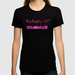 Washington DC Wall Art, Shirt, Cityscape Skyline, Souvenir T-shirt
