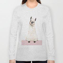 hi! Llama Long Sleeve T-shirt
