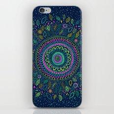 Midnight Garden Mandala iPhone Skin