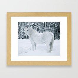 Wild n White Framed Art Print