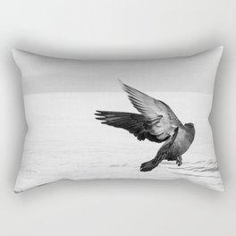 Waltzing Bird Rectangular Pillow