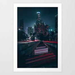 L.V. Art Print