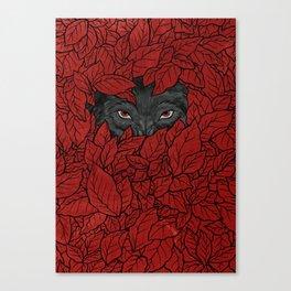 Hidden Wolf Canvas Print