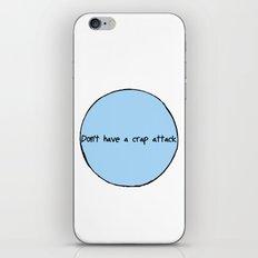 Crap Attack iPhone & iPod Skin