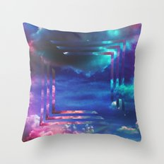 Light Black Throw Pillow