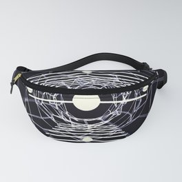 Monochrome abstraction. Fanny Pack