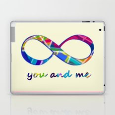 You & Me Infinity Laptop & iPad Skin