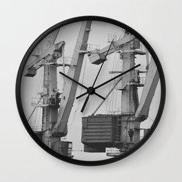 Working giraffe Wall Clock