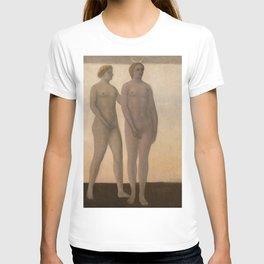 12,000pixel-500dpi - Vilhelm Hammershoi - Artemis - Digital Remastered Edition T-shirt