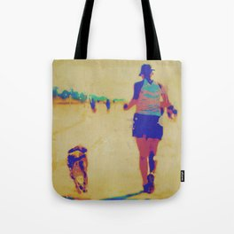 Beach Runner Tote Bag