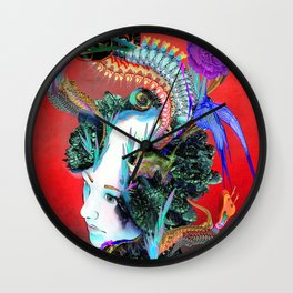 Moire Effect Wall Clock