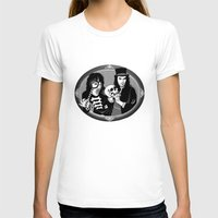 goth T-shirts featuring Goth Detectives by Jenna Karl