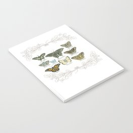 Butterflies and Branches Notebook