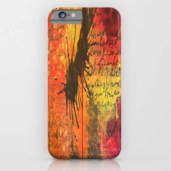 Symphony In Red iPhone & iPod Case