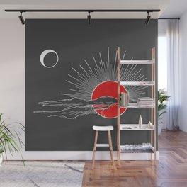 Ember Sun Wall Mural